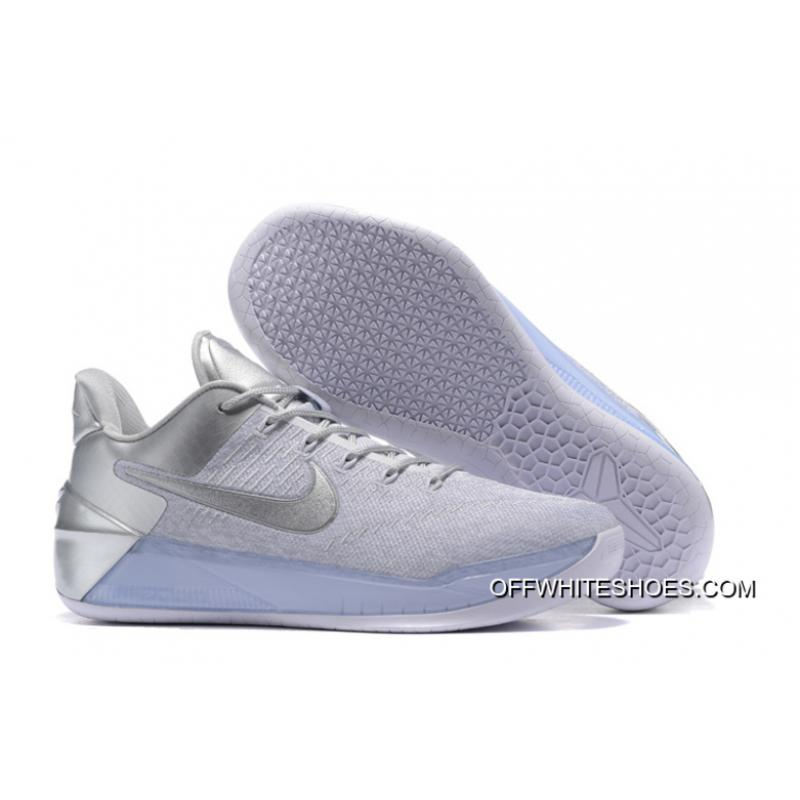 "new style e9fc3 71833 New Style Nike Kobe A.D. ""Silver White"" ..."