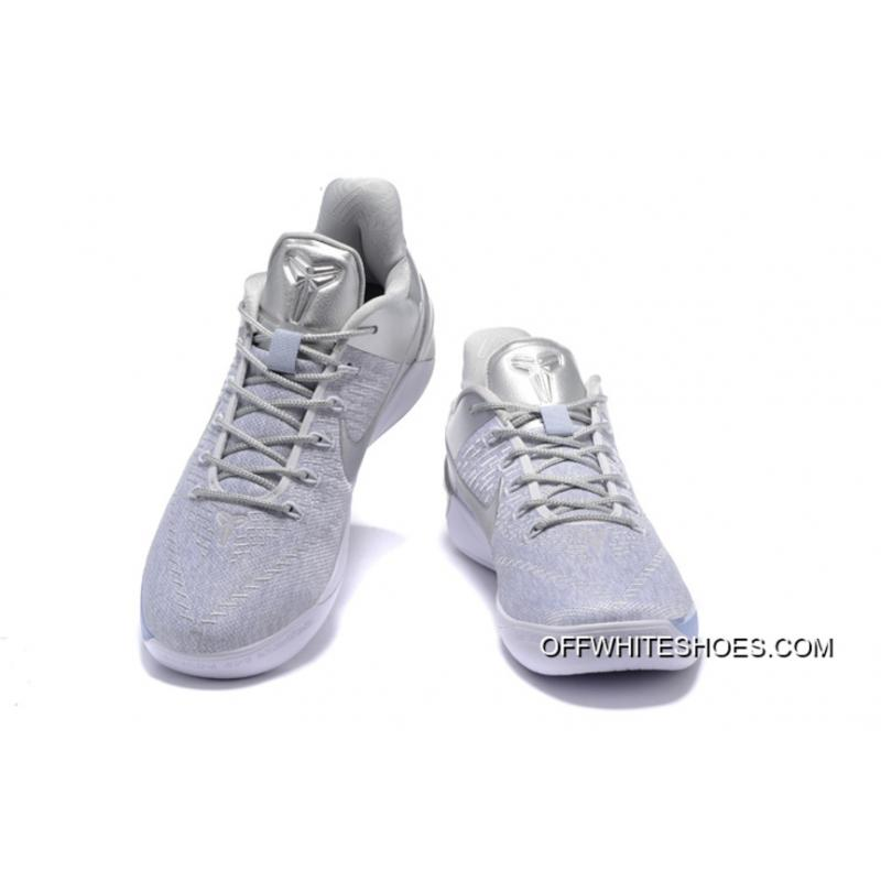 "new product 298a9 922e9 ... New Style Nike Kobe A.D. ""Silver White"" ..."