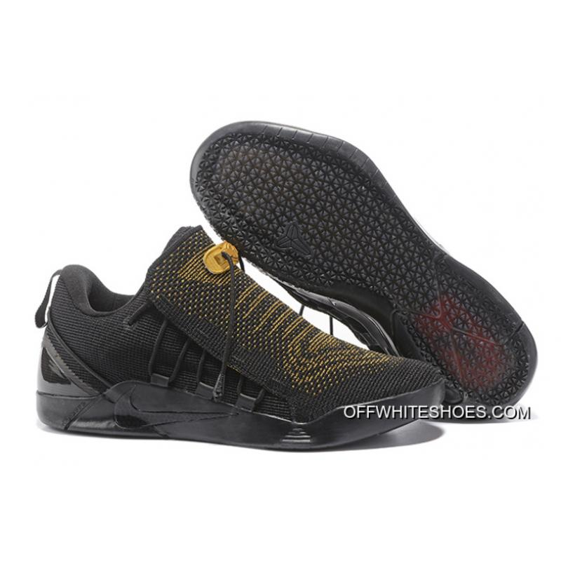 best service a6410 4e1cd Nike Kobe A.D. NXT Black Gold Discount ...