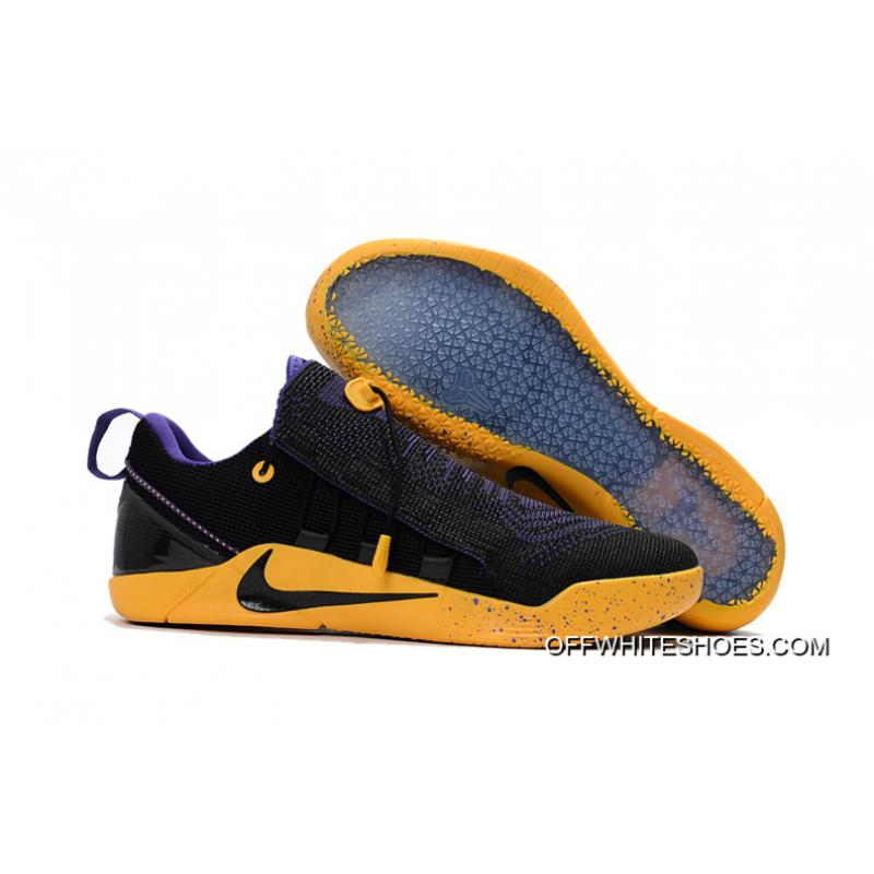 5f2ade3184c0 Nike Kobe A.D. NXT Black Purple Yellow For Sale ...