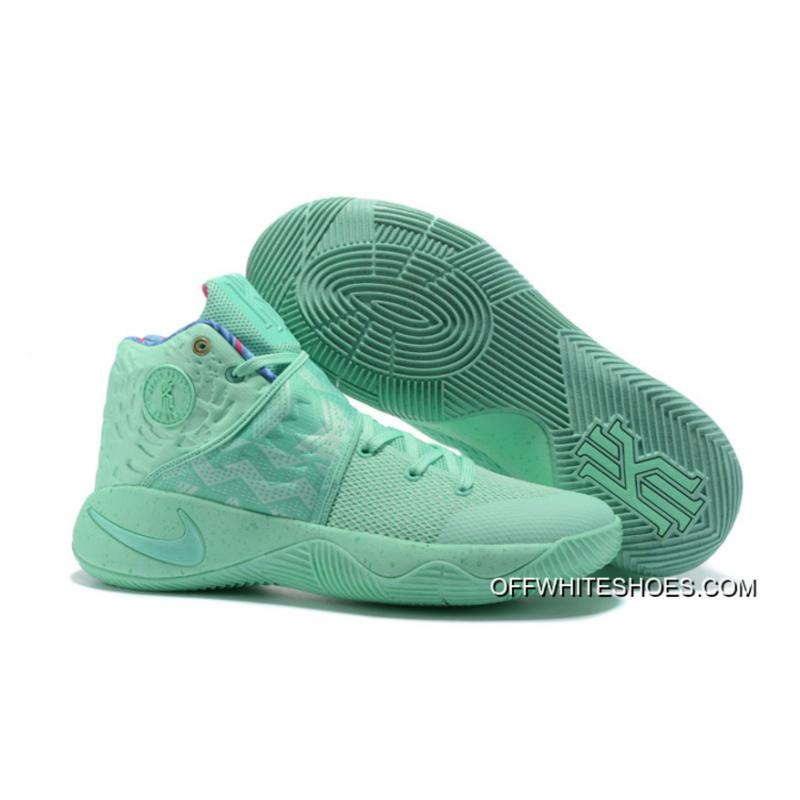 """42aded3d67ba For Sale Nike Kyrie 2 """"What The"""" Green Glow Green Glow ..."""