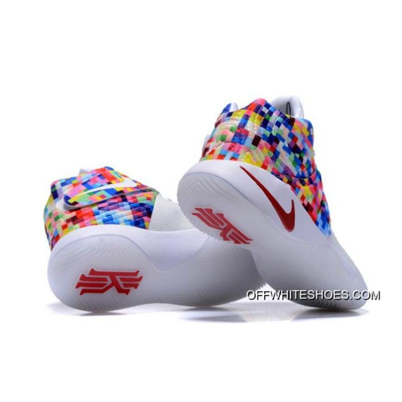 4627e729beb ... clearance outlet nike kyrie 2 effect white red multi color 095b4 1b723