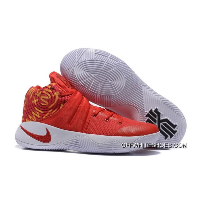 uk availability f22c4 d19e2 Nike Kyrie 2 Red White Basketball Shoes For Sale ...