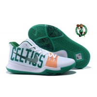 "Best OEM Kyrie 3 ""Celtics"" White Green"