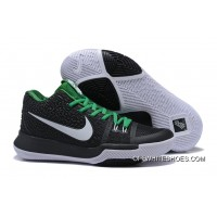 Outlet Nike Kyrie 3 Black/Green-White