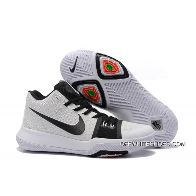 uk availability c007a a5071 ... official store free shipping nike kyrie 3 white black 8ccf5 f0afe