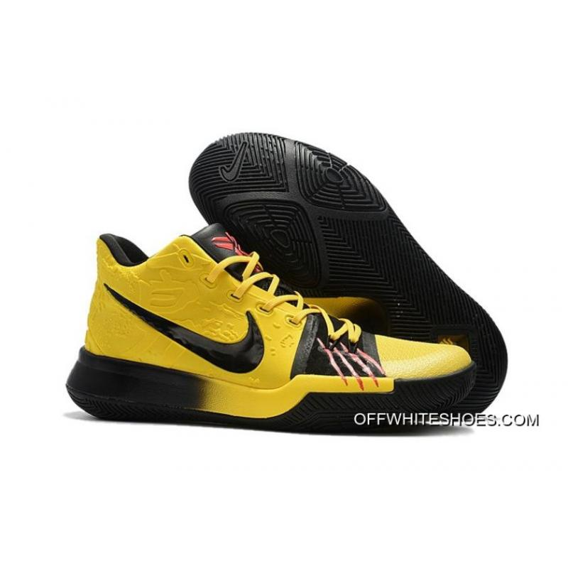 """size 40 dcb12 78ffe Nike Kyrie 3 """"Bruce Lee"""" Tour Yellow/Black Best"""