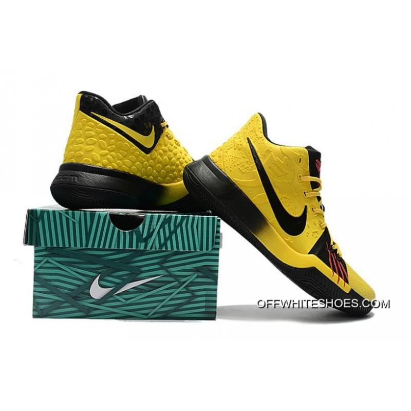 """competitive price 538e8 3fbcd ... Nike Kyrie 3 """"Bruce Lee"""" Tour Yellow Black Best ..."""