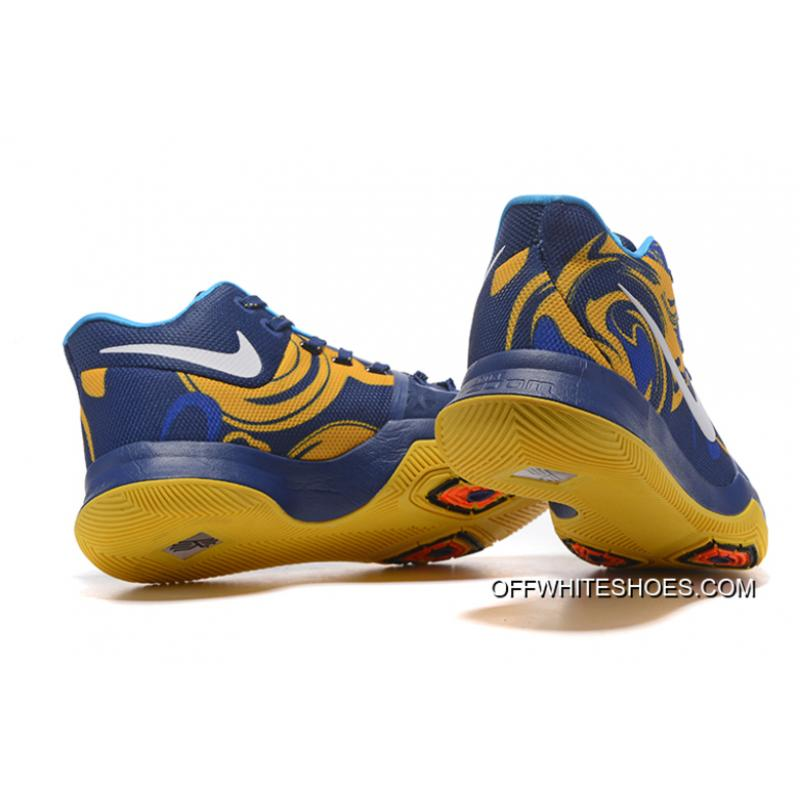 the best attitude b3f1d f3f26 ... Top Deals Nike Kyrie 3 Blue Yellow PE Vs Wizards ...