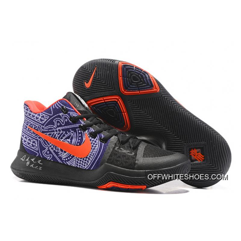 "outlet store 4b2f5 8d576 Best Nike Kyrie 3 ""Hamsa Hand"" Tattoo Basketball Shoes ..."
