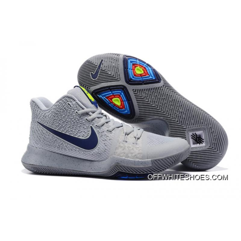 info for 56cc8 f6423 Nike Kyrie 3 Cool Grey Midnight Navy-Pure Online ...