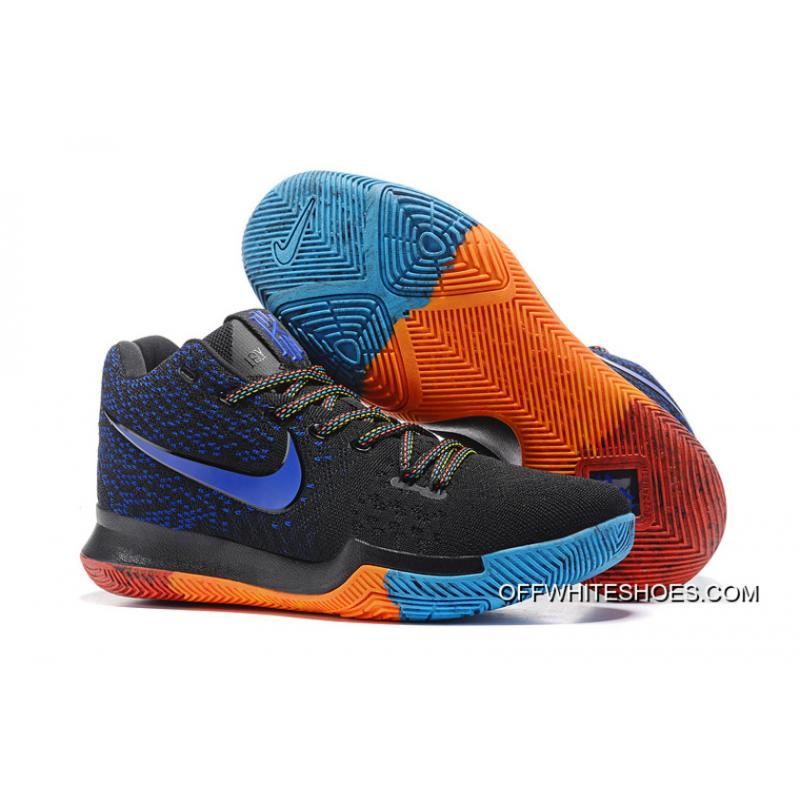 super popular 15426 0a98e Super Deals Nike Kyrie 3 Black Royal Blue Red ...