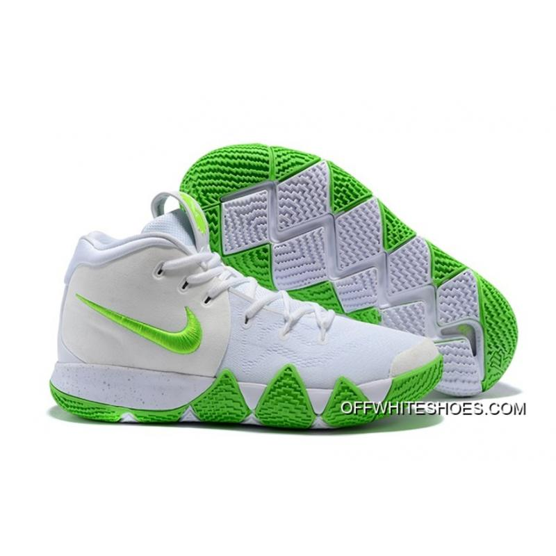 Top Deals Mountain Dew X Nike Kyrie 4 KARE Kit White Green