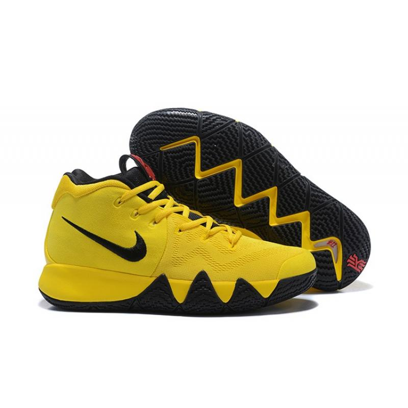 "466c15772ad Nike Kyrie 4 ""Mamba Mentality"" Tour Yellow Black Top Deals ..."