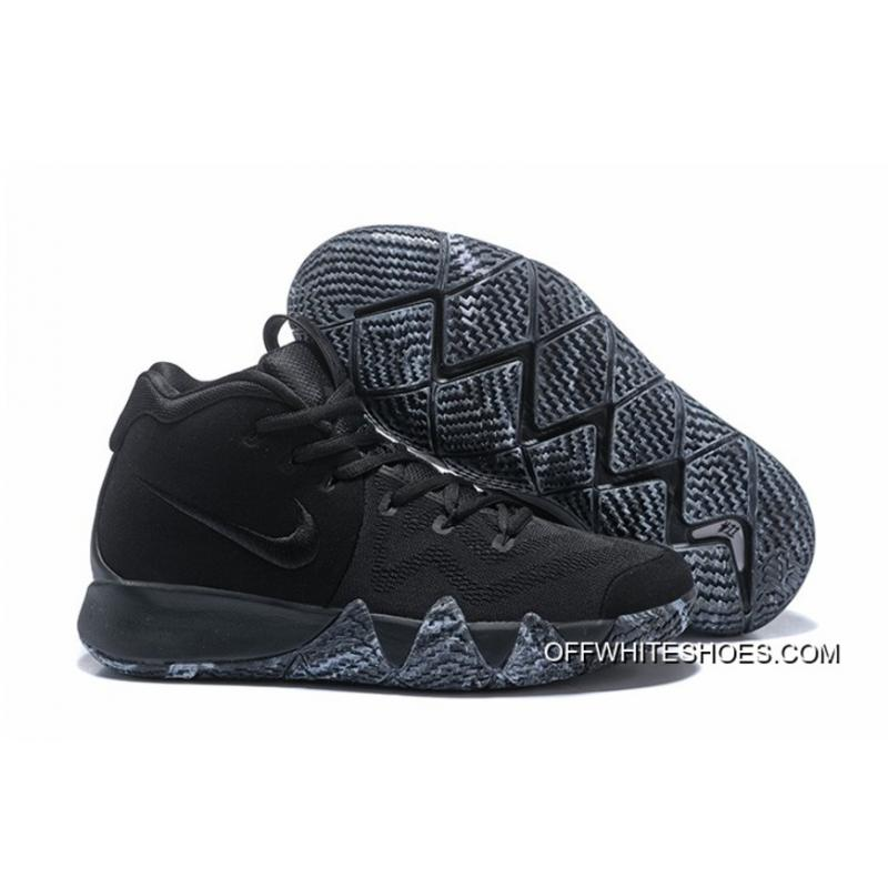 "c0d757015b9 Nike Kyrie 4 ""Triple Black"" For Sale ..."