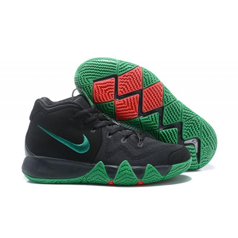 best sneakers bc3b9 1b4e6 Latest Nike Kyrie 4 Black Green Red ...