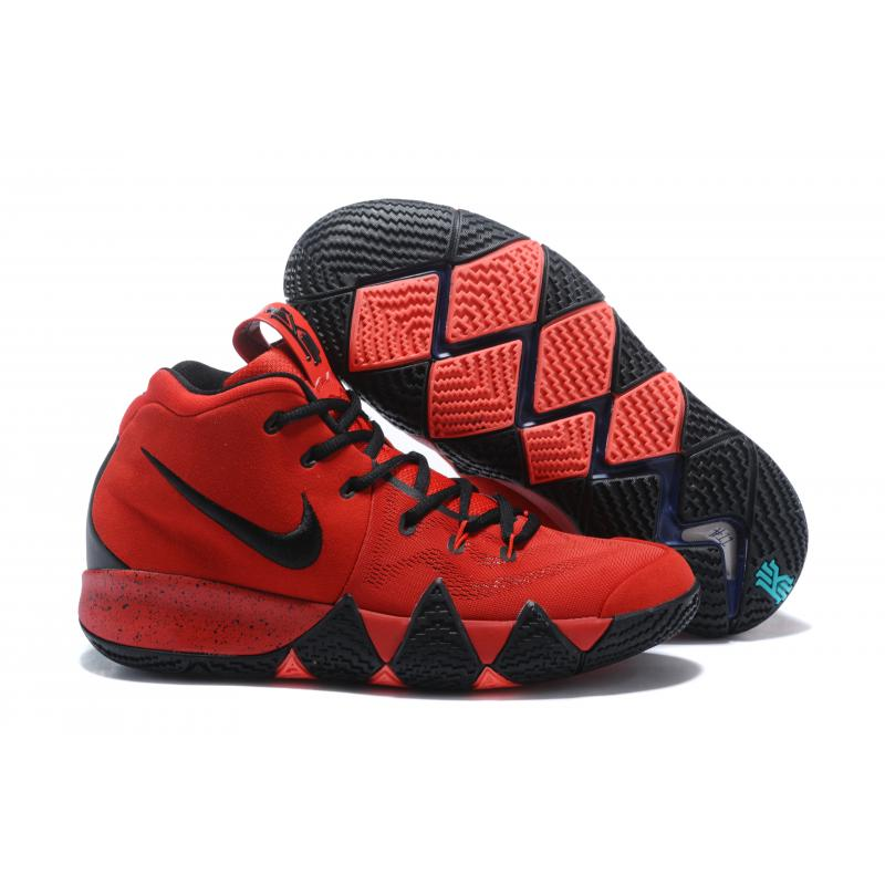 newest 1188a 592c5 New Style Nike Kyrie 4 Red Black ...