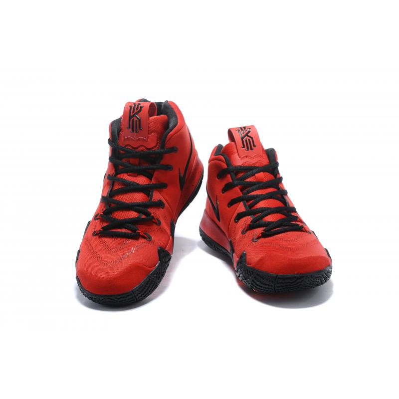 b047879bcc2b new zealand new style nike kyrie 4 red black b4a00 e9ff1