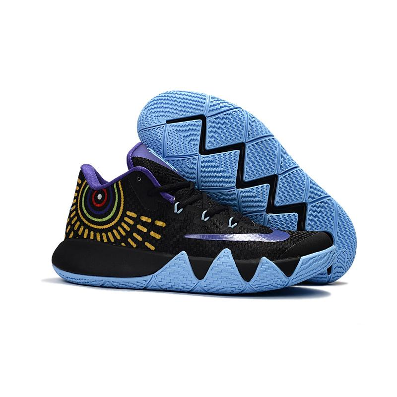 super popular 14de4 8eb9a Nike Kyrie 4 Black Purple Jade Outlet