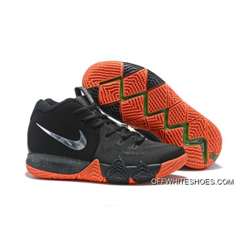 "info for 819fe 3466e Nike Kyrie 4 ""Halloween"" Black/Metallic Silver-Orange Latest"