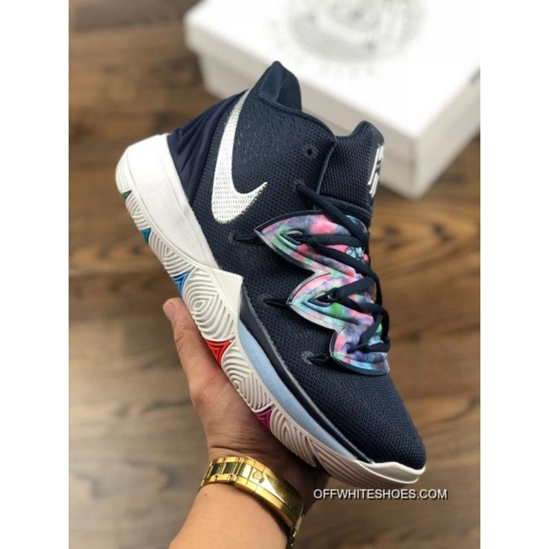 huge selection of 719d7 1e0f5 Latest Men Nike Kyrie 5 Basketball Shoes SKU9260-443 ...