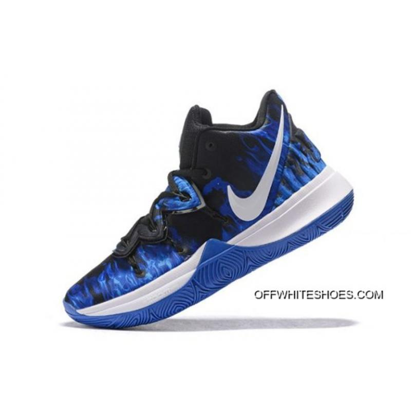 "low priced 43935 df3c4 Online Nike Kyrie 5 ""Duke"" PE Game Royal Black CI0306-901 ..."