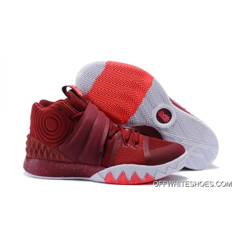 New Style Nike Kyrie S1 Hybrid Burgundy White-Fusion Pink ... 61dae6a763