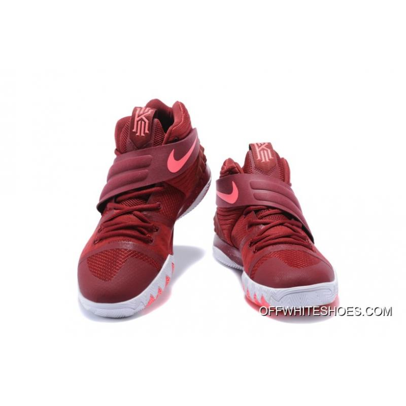 ... New Style Nike Kyrie S1 Hybrid Burgundy White-Fusion Pink ... f9a96b0c97