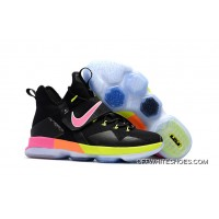 "2aa31678e804e Best Nike LeBron 14 ""Black Rainbow"""