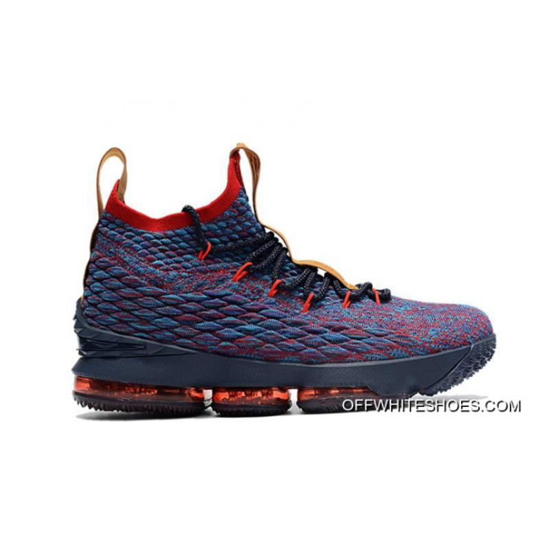 """official photos d2d17 b9331 New Release Nike LeBron 15 Cavs """"New Heights"""""""