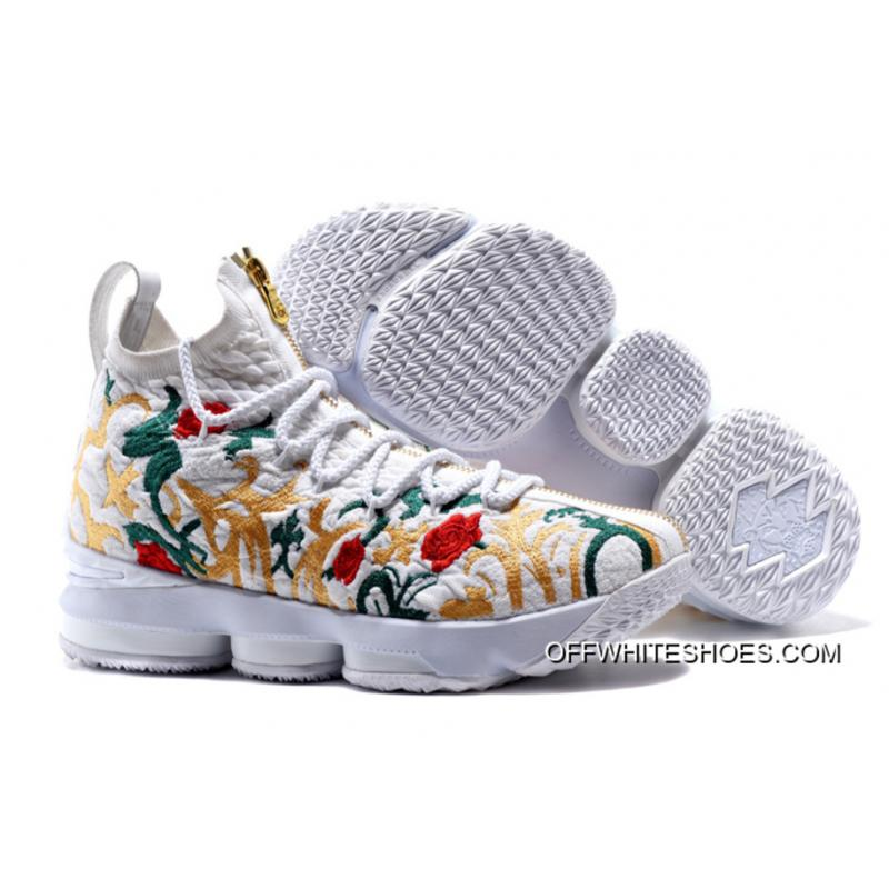 "sale retailer 748da 0be1a Top Deals KITH X Nike LeBron 15 ""Floral"""