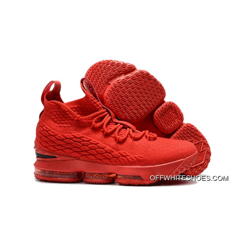 Nike LeBron 15  Ohio State  PE Red Black Outlet ... f238bb04791f