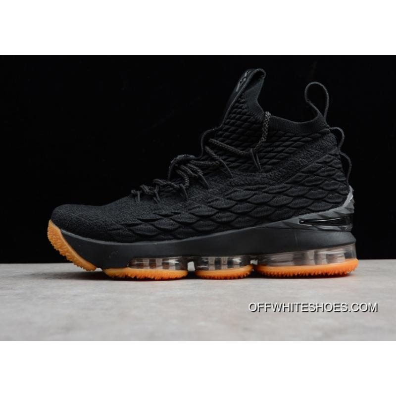 9a5b32ca8e74 Nike LeBron 15 Black Gum Super Deals ...