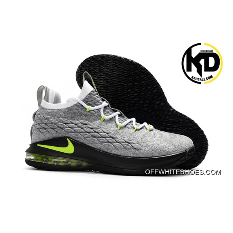 cheaper 92948 ce408 Outlet Nike LeBron 15 Low Neon