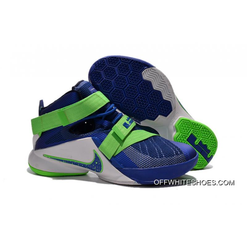 "30930f7dbaa Nike LeBron Soldier 9 ""Sprite"" Basketball Shoe New Style ..."