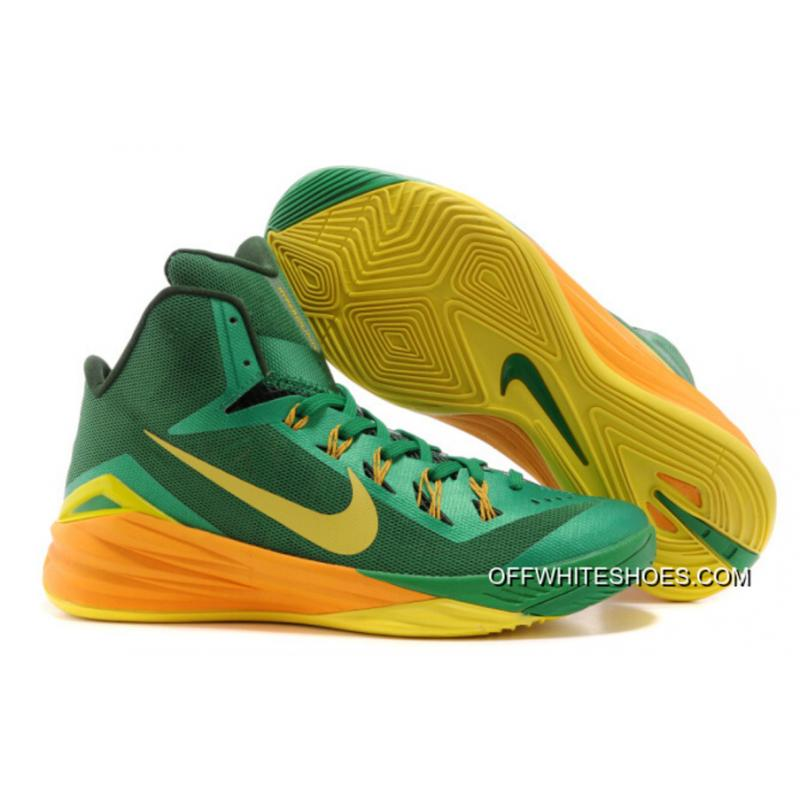 "huge selection of 7d4c1 2cad3 Nike Hyperdunk ""Brazil"" Lucky Green Sonic Yellow-Gorge Green Off-White ..."