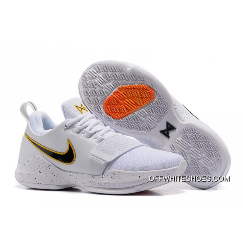 "066b423e02c Nike Zoom PG 1 ""Home"" PE Off-White New Release ..."