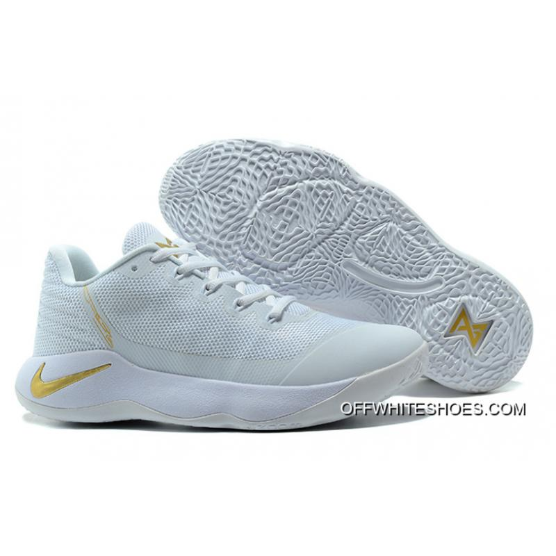 bb6ac87e7b5 Nike Zoom PG 2 White Gold For Sale ...