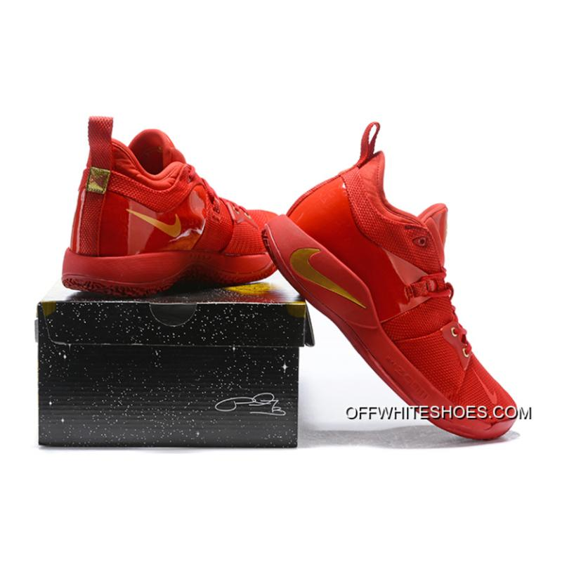 ... Outlet Nike PG 2 University Red Gold 7addc59e8c