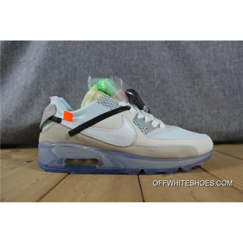 2nd Air Max 90 X OFF WHITE New Release