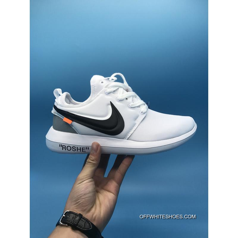1cd9c49e4d8a London Running Shoes Nike Roshe Run X Off-White Joint Series Latest ...