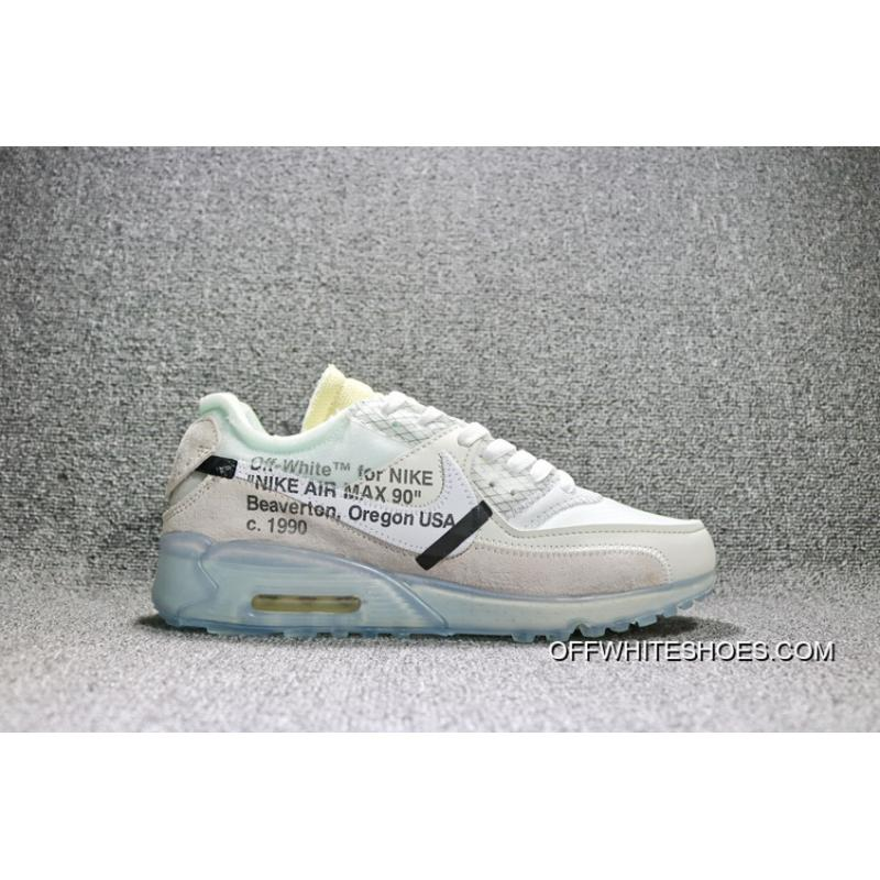 39 46 sku aa7293 100 biancastro nike air max 90 x ofw off90 comune