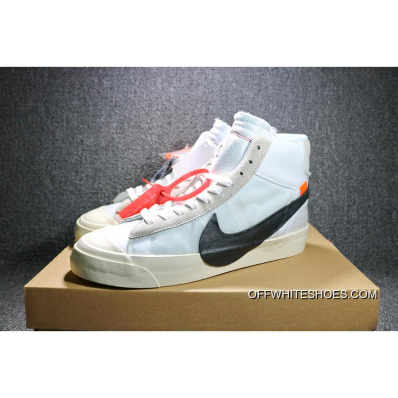 ... Super Deals All Size Sku Aa3832-100 Off-White X Nike Blazer Mid Ow ...