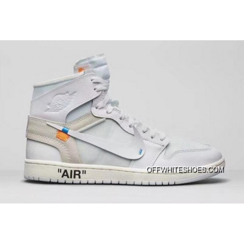 c3af1a2de9fa2 Air Jordan 1 Generation Off-White X 1 White Original Sku  Number 7 5 ...