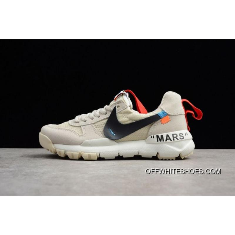 Men Off White X Nike Craft Mars Yard Running Shoe SKU165278255 Super Deals