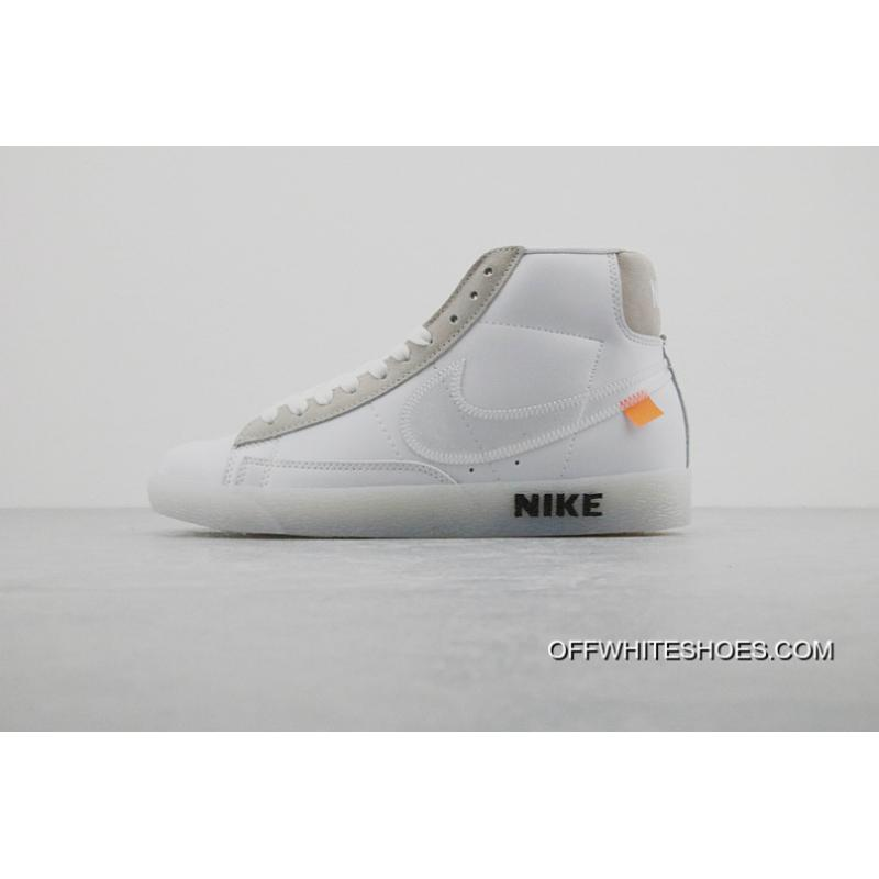 Nike OFFWHITE X BLAZER MID Joint Publishing High New Release