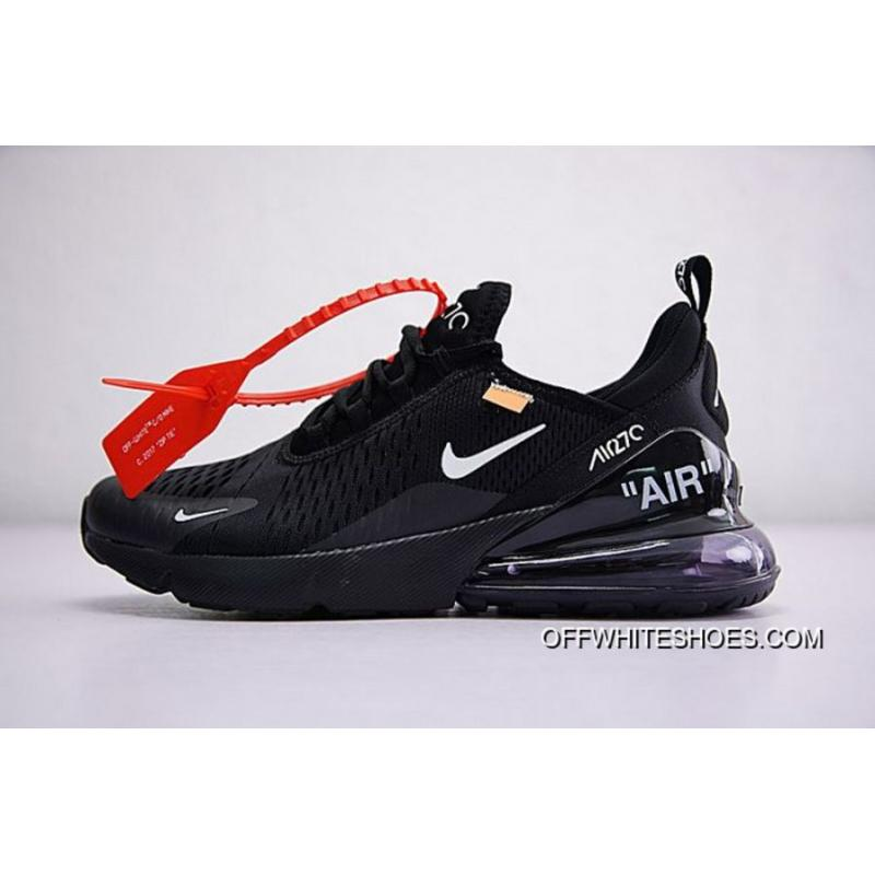 b68881d24a3 Men Off White X Nike Air Max 270 Running Shoe SKU 150349-267 Discount ...