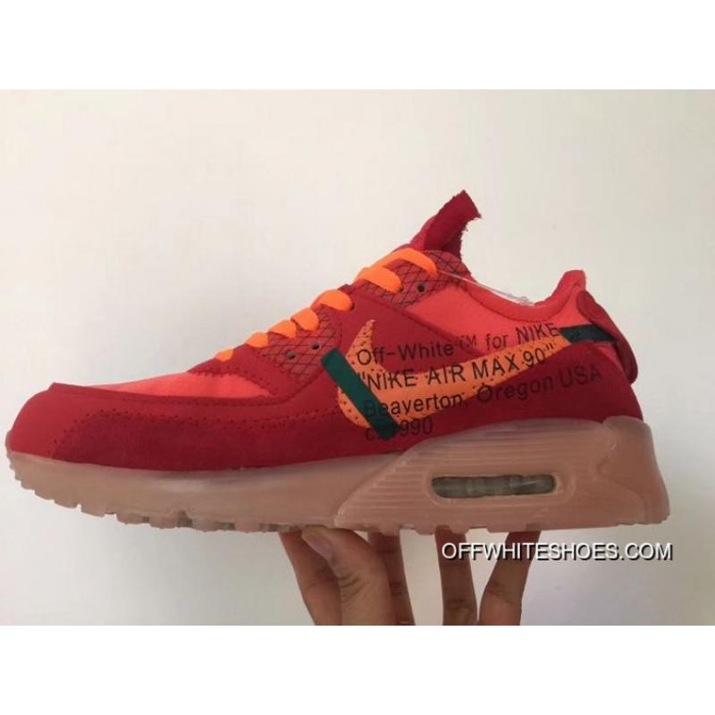 competitive price 593ab 93052 Men OFF-WHITE X Nike Air Max 90 Running Shoe SKU 5245-357 ...