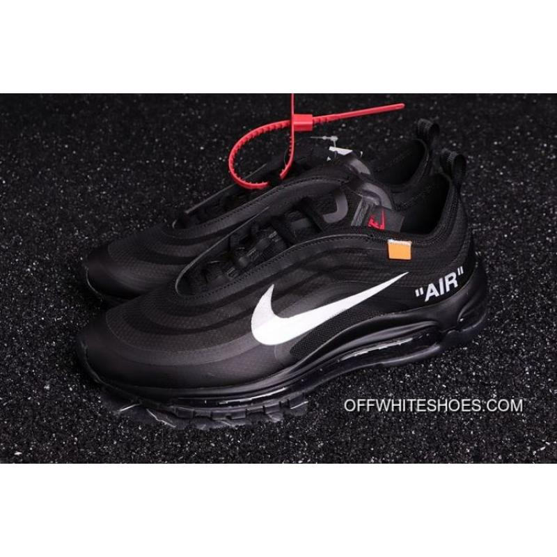 newest 736af f7c16 Big Deals Men OFF-WHITE X Nike Air Max 97 Running Shoes SKU 149446 ...