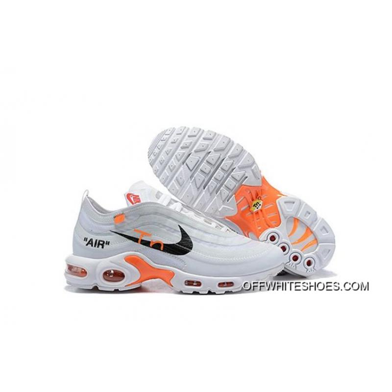764c5dccec Men OFF-WHITE X Nike Air Max 97 TN Running Shoes SKU:136464-467 New ...